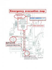 避難経路図