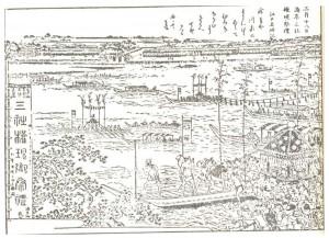 江戸時代船渡御